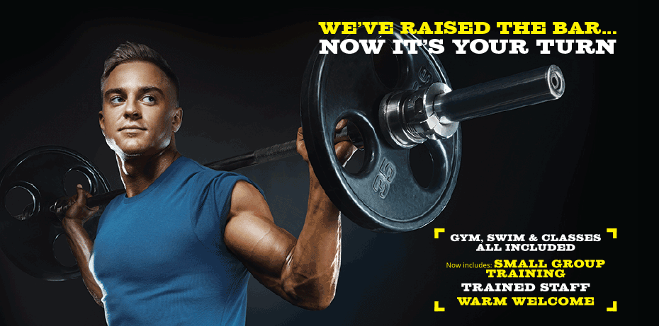 We've raised the bar. Now it's your turn. Come and see us at Inspiring healthy lifestyles leisure centres